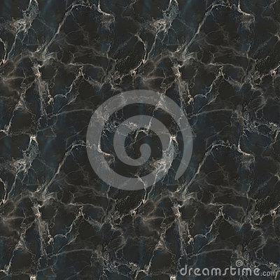 Black Marble Seamless Pattern