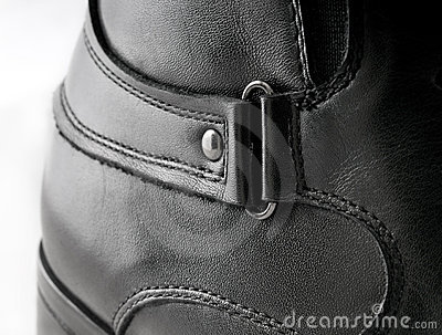 Black Men s leather shoes