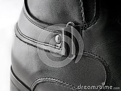 Black Men s leather shoes