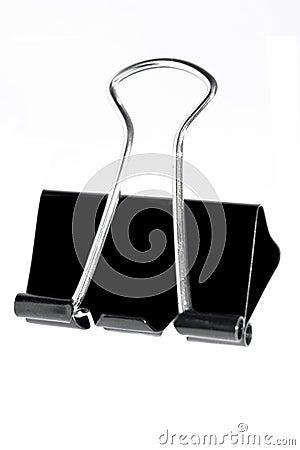 Clip Art Black Paper Clip black metal paper clip royalty free stock photos image 7540498