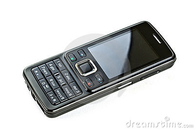 Black mobile phone