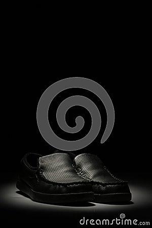 Black mocasins