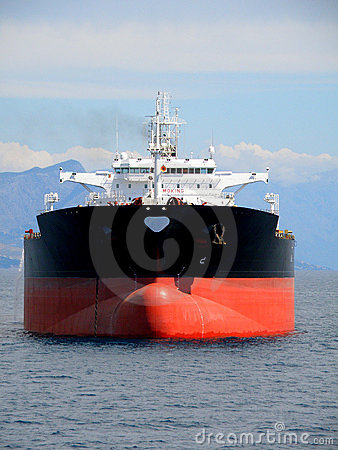 Free Black Oil Tanker Royalty Free Stock Photos - 7707838