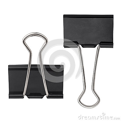 Free Black Paper Clip Stock Images - 34831344