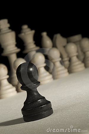 Free Black Pawn Stock Images - 3798514