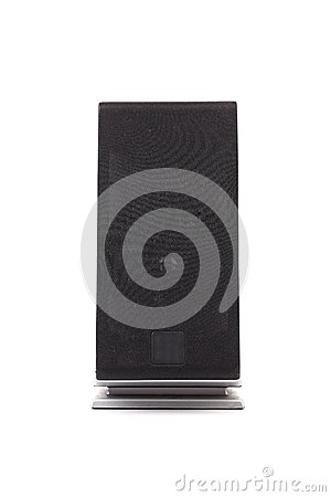 Black pc speaker.