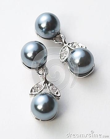 Free Black Pearl Jewellery Royalty Free Stock Image - 3165746