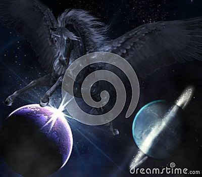 Black Pegasus