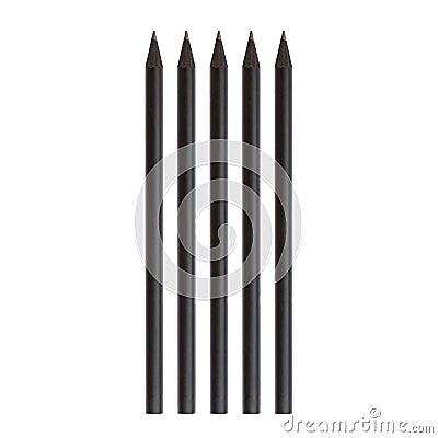 Free Black Pencil Royalty Free Stock Image - 51014606