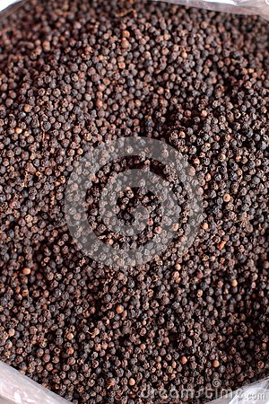 Black pepper in thai market