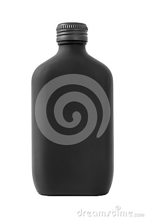 Free Black Perfume Bottle Royalty Free Stock Photos - 34227668