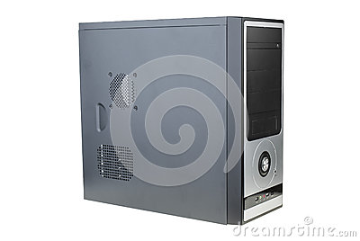 Black personal computer