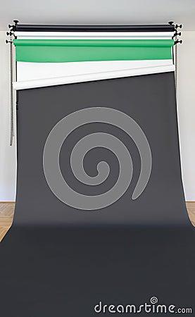 Black Photo Studio Backdrop