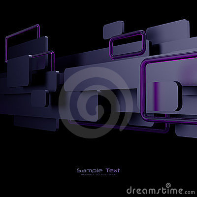 Black, purple and pink abstract background
