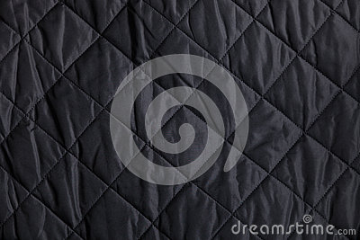 Black Quilted Wallpaper Black Quilted F...
