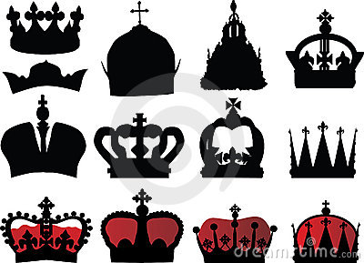 Black and red crown collection