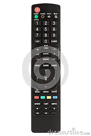 Black Remote Control