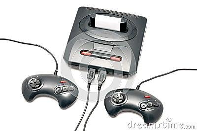black retro console