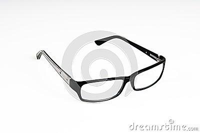 Black rimmed glasses
