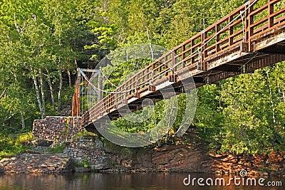 Black River Harbor Foot Bridge