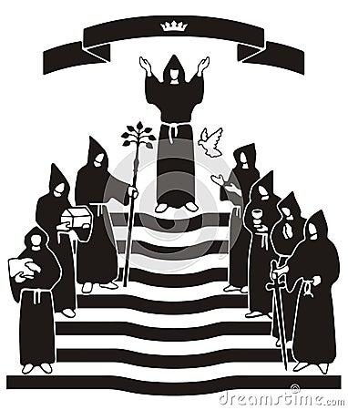 Black robe ceremony