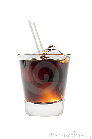 Free Black Russian Cocktail Stock Photos - 12849493