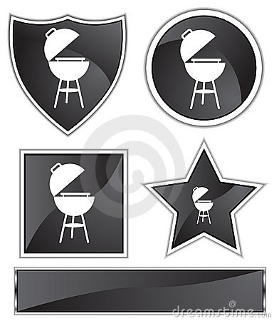 Black Satin - BBQ grill