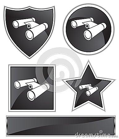 Black Satin - Binoculars
