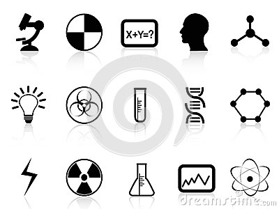 Black Science Symbols Stock Photography Image 34434642