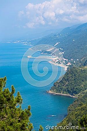 Black Sea Northern Turkey