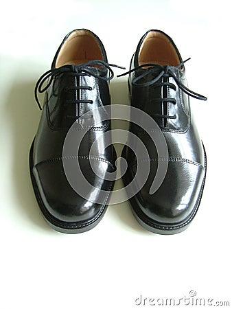 Free Black Shoe Stock Image - 78051