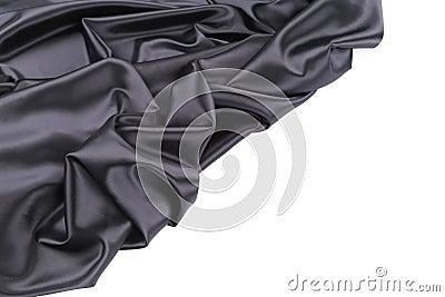 Black silk beckground.