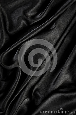 Black silk / velvet cloth