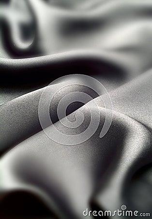Black silk waves