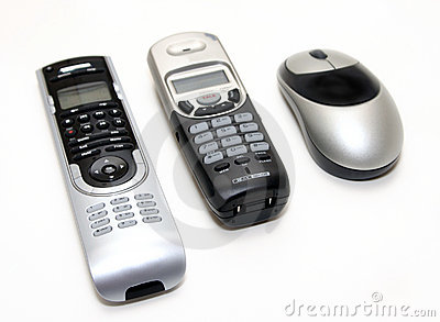 Black and Silver Home Electronics