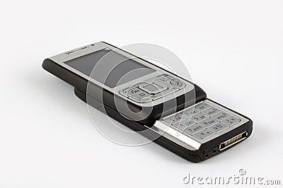 Black slider phone