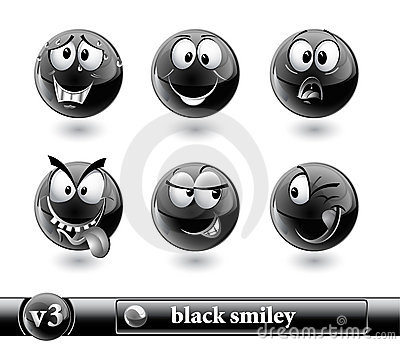 Black smiley. vol3