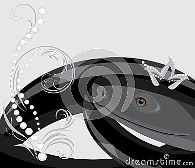 Black snake with diamond crown