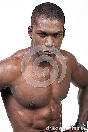 Free Black Sportsman Portrait Stock Image - 1723331