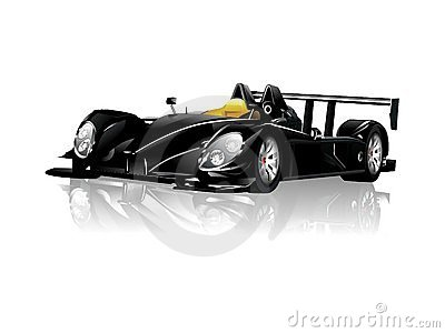 Black Spyder Sport Car
