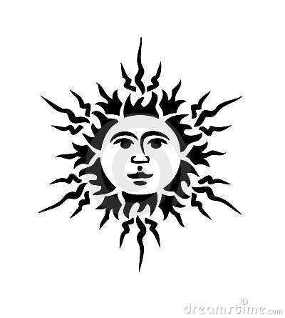 Free Black Sun Stock Image - 4758851