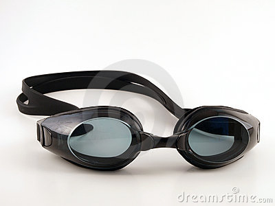 Black Swim Goggles