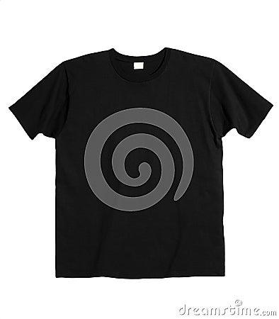 Free Black T-Shirt Royalty Free Stock Image - 15713116