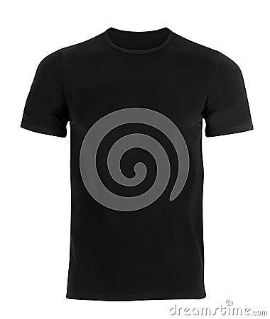 Free Black T-shirt Royalty Free Stock Photo - 61261225