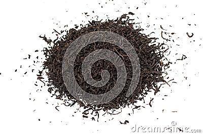 Black tea loose dried leaves
