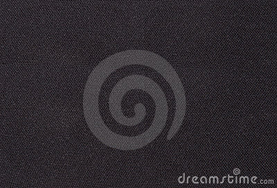 Black textile fabric