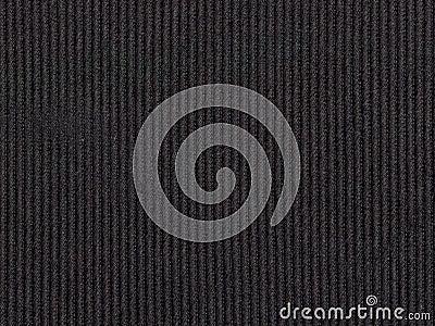 Black textured fabric