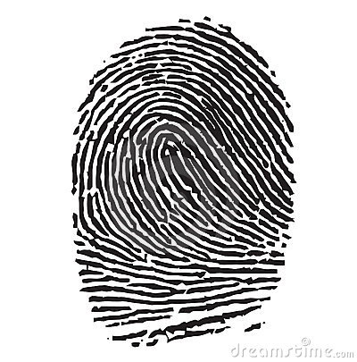 Black Thumbprint