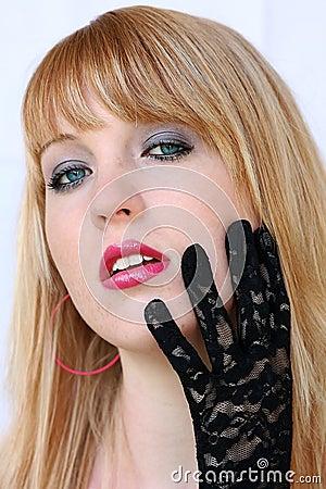 Black top gloves