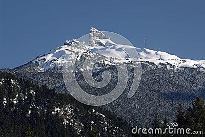 Black Tusk in Coast Mountains